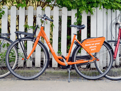 Rental bike, Copenhagen