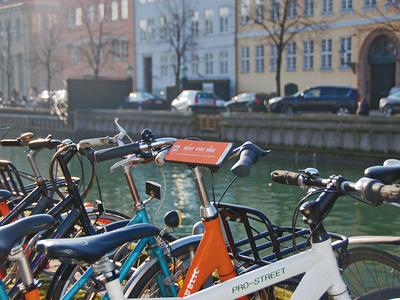 Rental bike in Christianshavn
