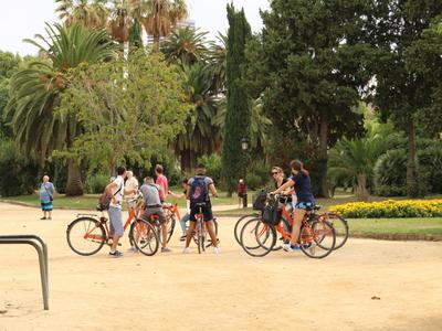 Donkey Bike Rental Ciutadella Barcelona