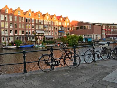 Bicycle in Jordaan, Amsterdam